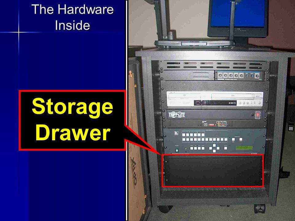 12 The Hardware Inside Storage Drawer