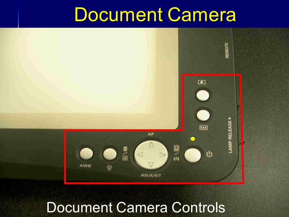 31 Document Camera Document Camera Controls