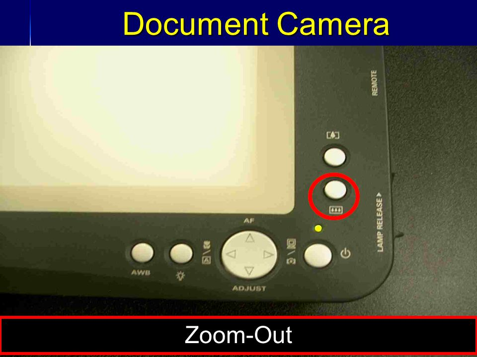 35 Document Camera Zoom-Out