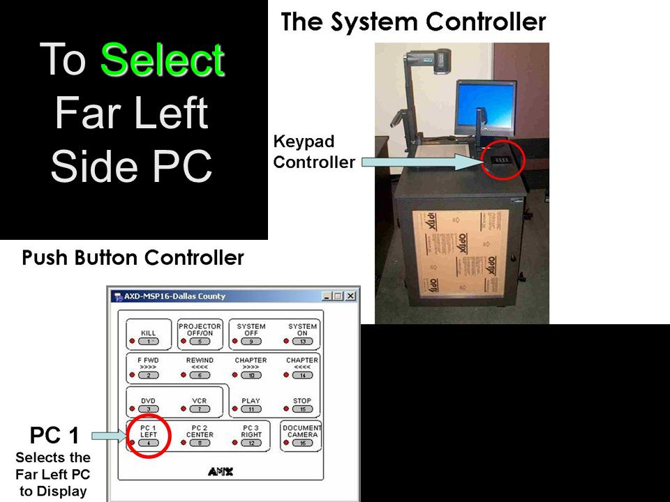Select To Select Far Left Side PC