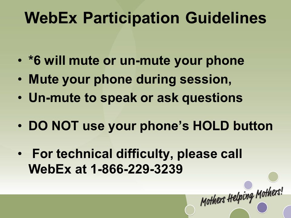 WebEx on Using the Breastfeeding Peer Counseling Facilitator Guide