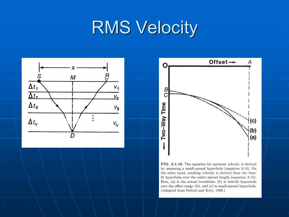 RMS Velocity