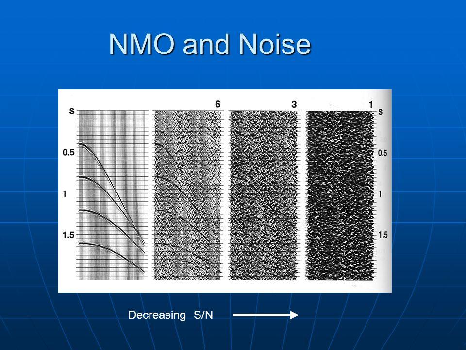 NMO and Noise Decreasing S/N