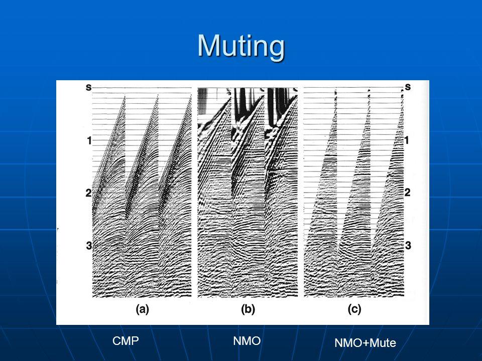 Muting CMPNMO NMO+Mute