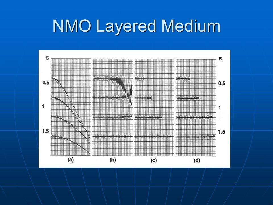 NMO Layered Medium