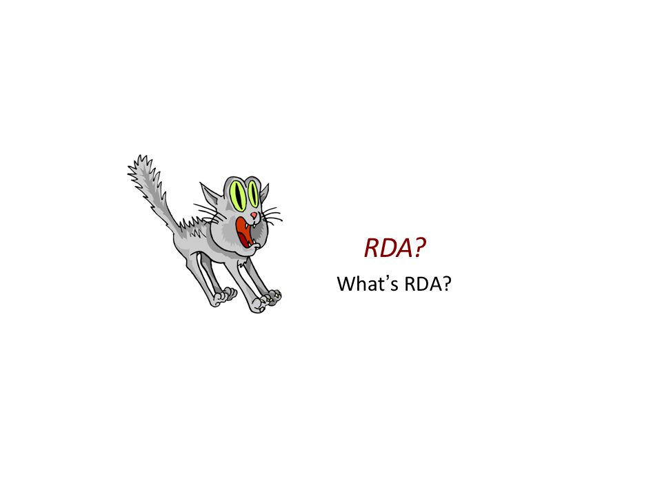 Crash Basic #1 on RDA RDA = R esults- D riven A ccountability
