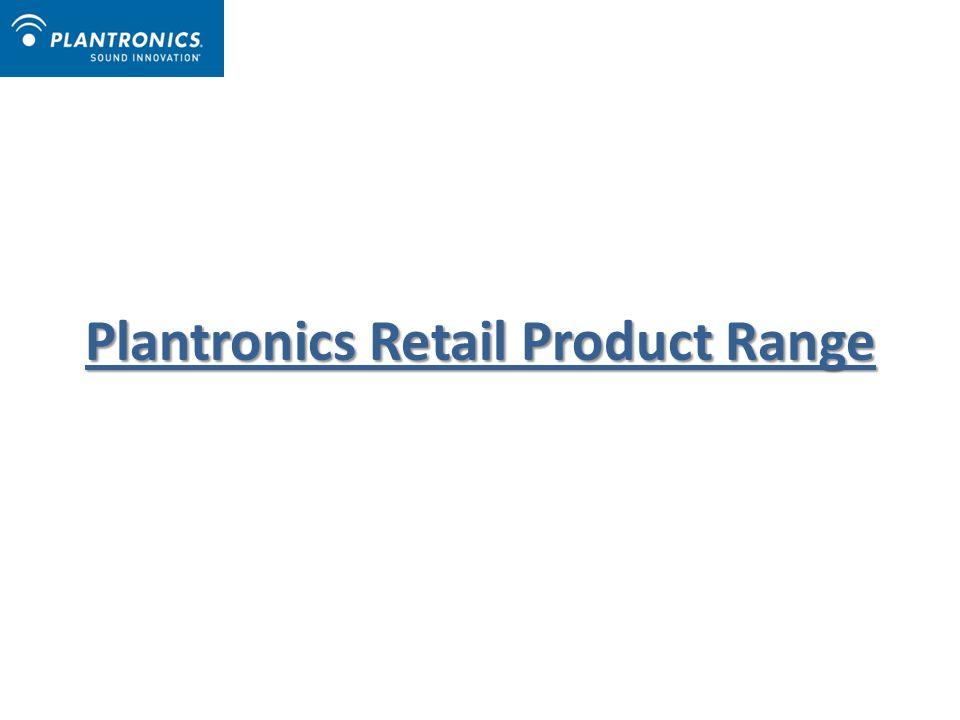 Plantronics Retail Product Range