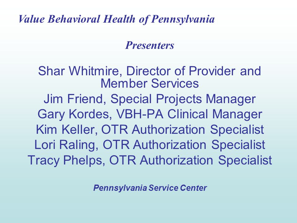 Value Behavioral Health of Pennsylvania 43 The confirmation page has the Level of Service (Medication Management), authorization effective and expiration dates, authorization reason code A71, and the number of units (24).