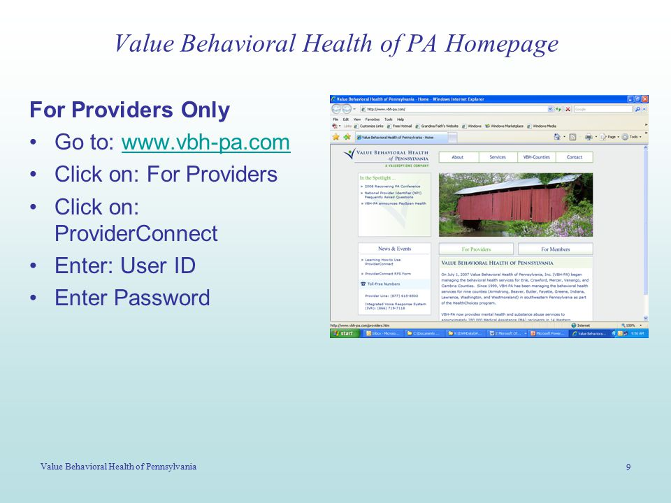 Value Behavioral Health of Pennsylvania 20 Click OK to proceed with Auth Approval
