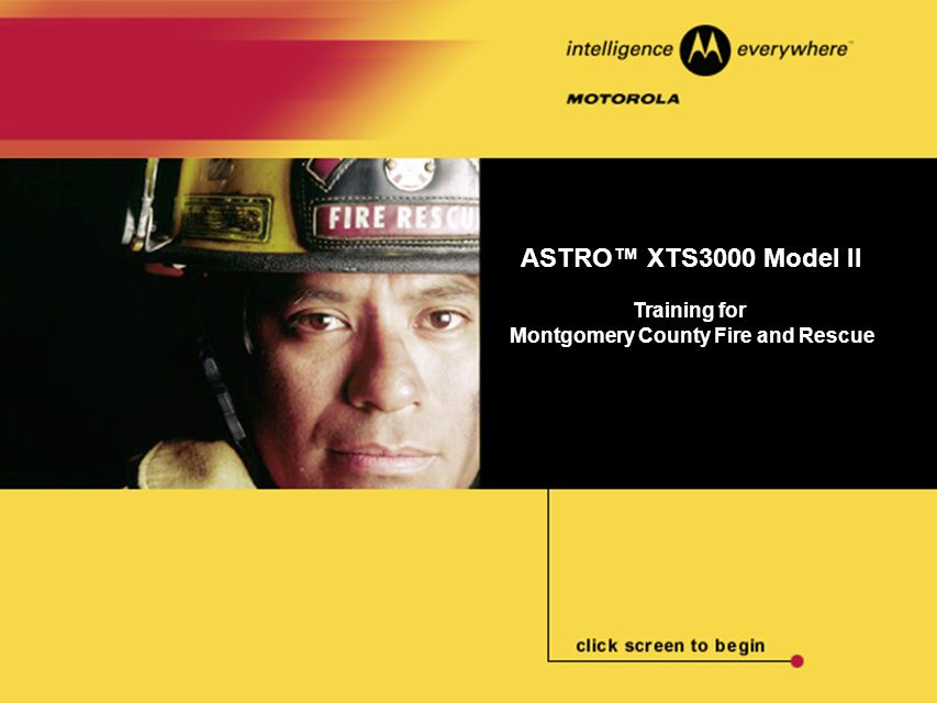 ASTRO™ XTS3000 Model II To send an Emergency Alarm: 1.Press the Emergency button.