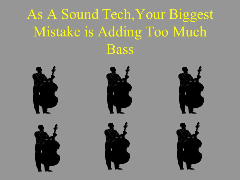If you get confused…..Just put the EQ knobs to their center positions.