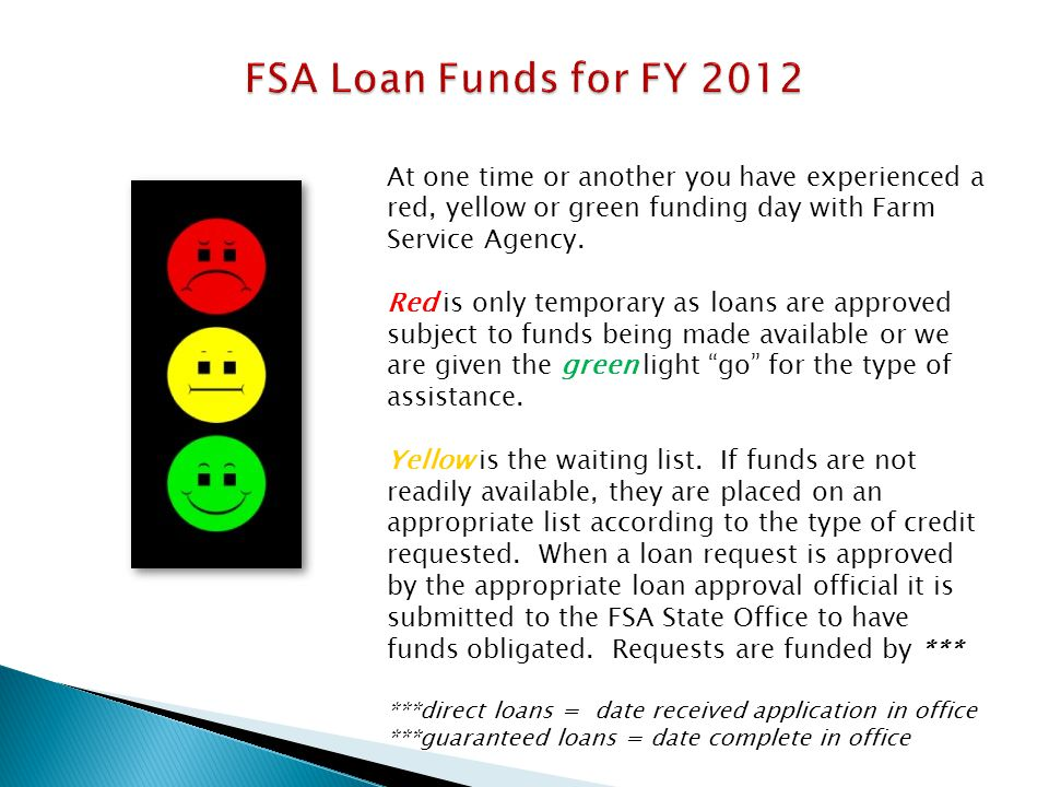 Increasing SDA Participation in the Guaranteed Loan Program Market Placement Program: -Besides determining the participation rate, demographic information enables some applicants to take advantage of special targeted funds.