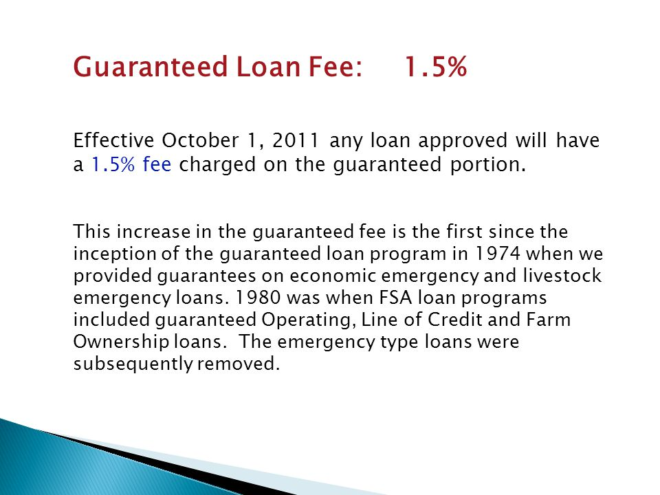 For Farm Loan Programs, the Report indicates:  in general, the SDA participation rate in the direct loan program was at or above the percent of SDA principal operators reported in the 2007 NASS Census of Agriculture.