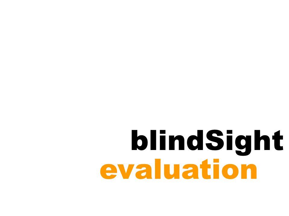 blindSight evaluation