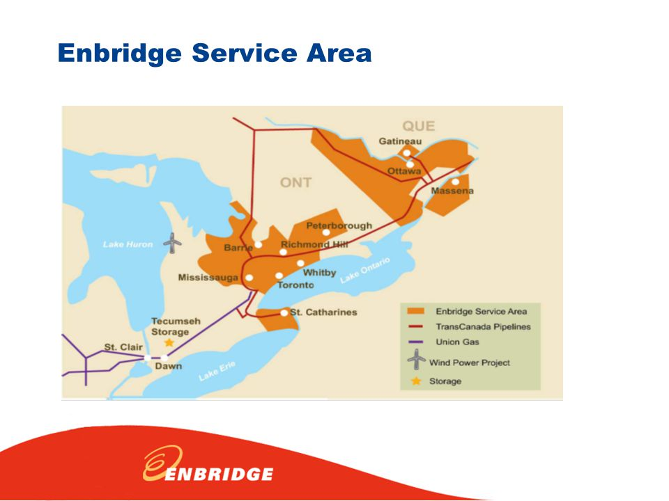 Enbridge Service Area