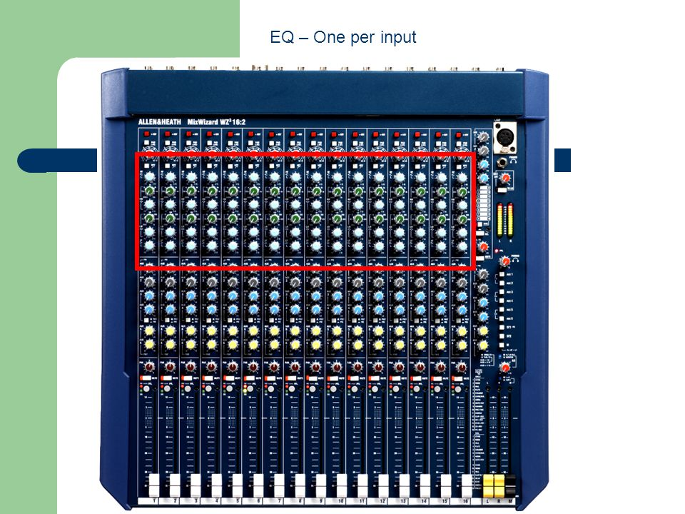 EQ – One per input