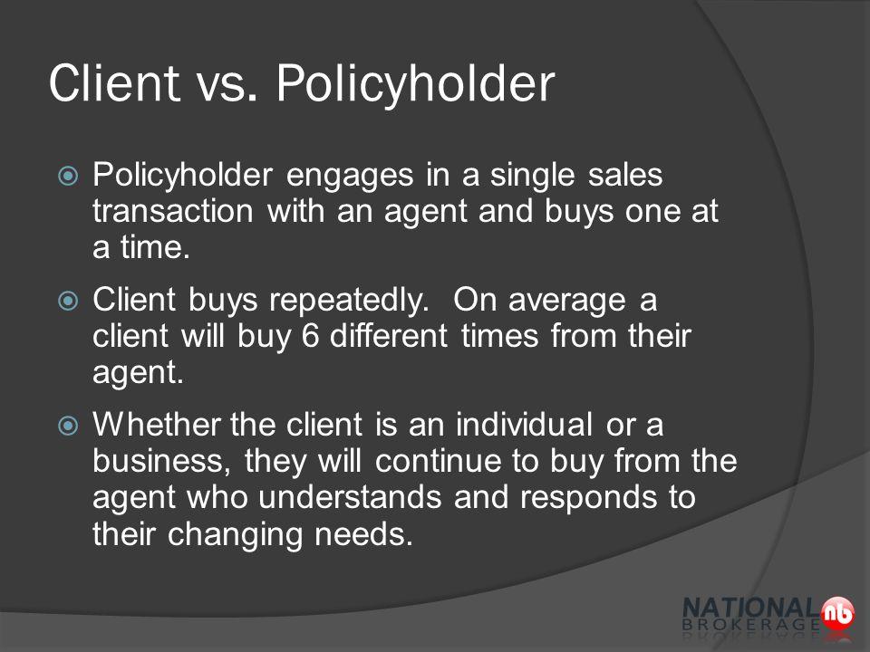Client vs.