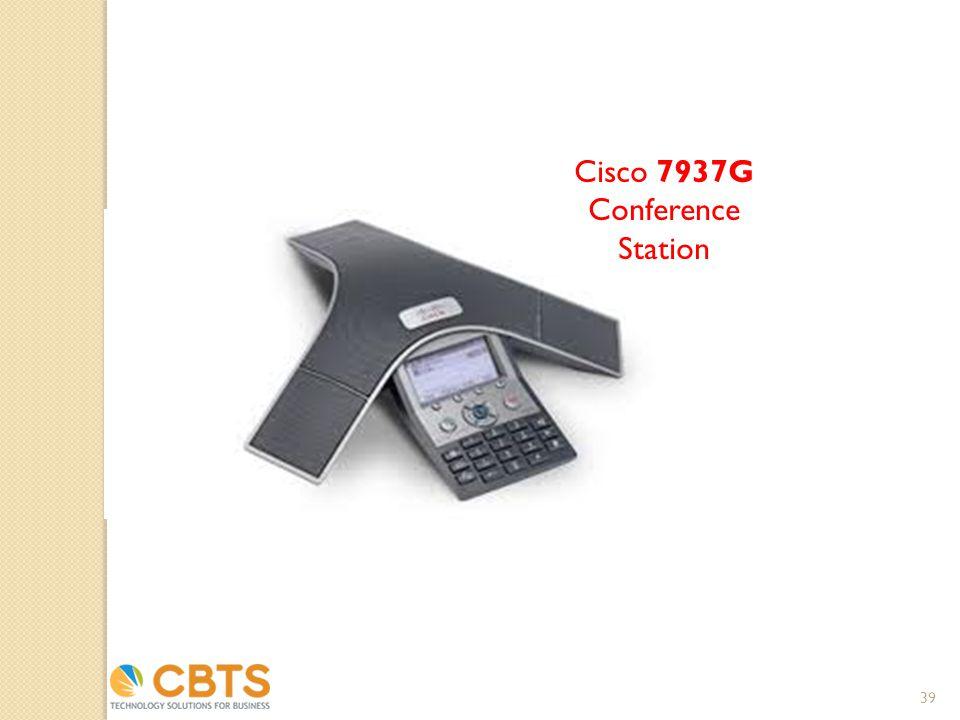 Cisco 7937G Conference Station 39