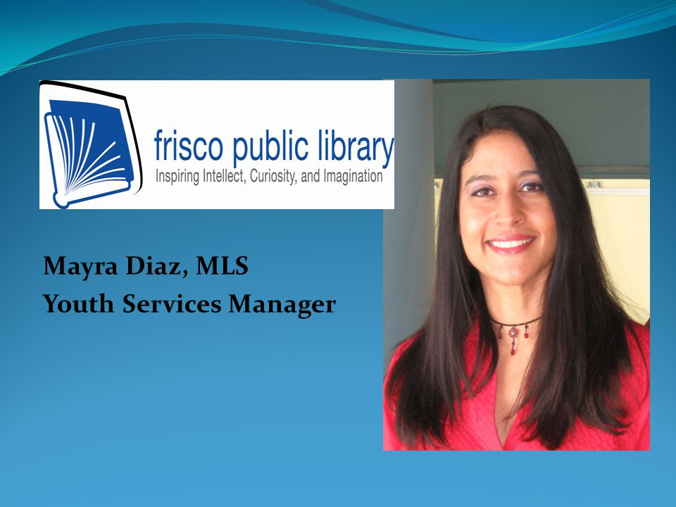 Mayra Diaz, MLS Youth Services Manager
