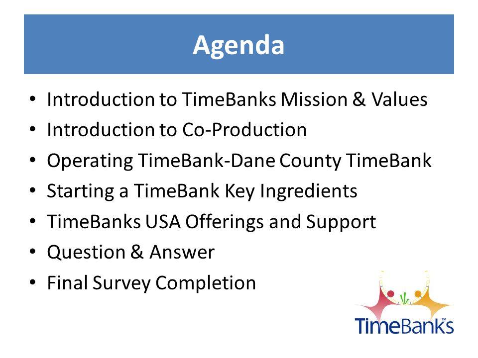TimeBanks Introduction