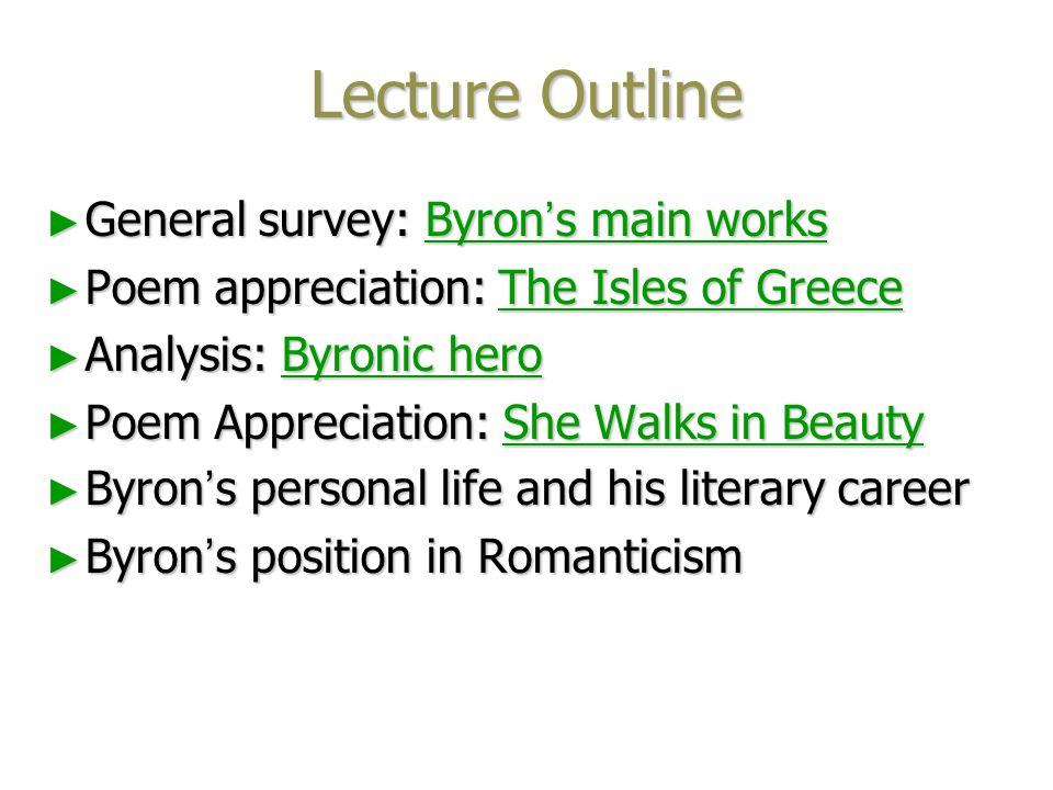 George Gordon Byron George Gordon Byron (1788-1824)