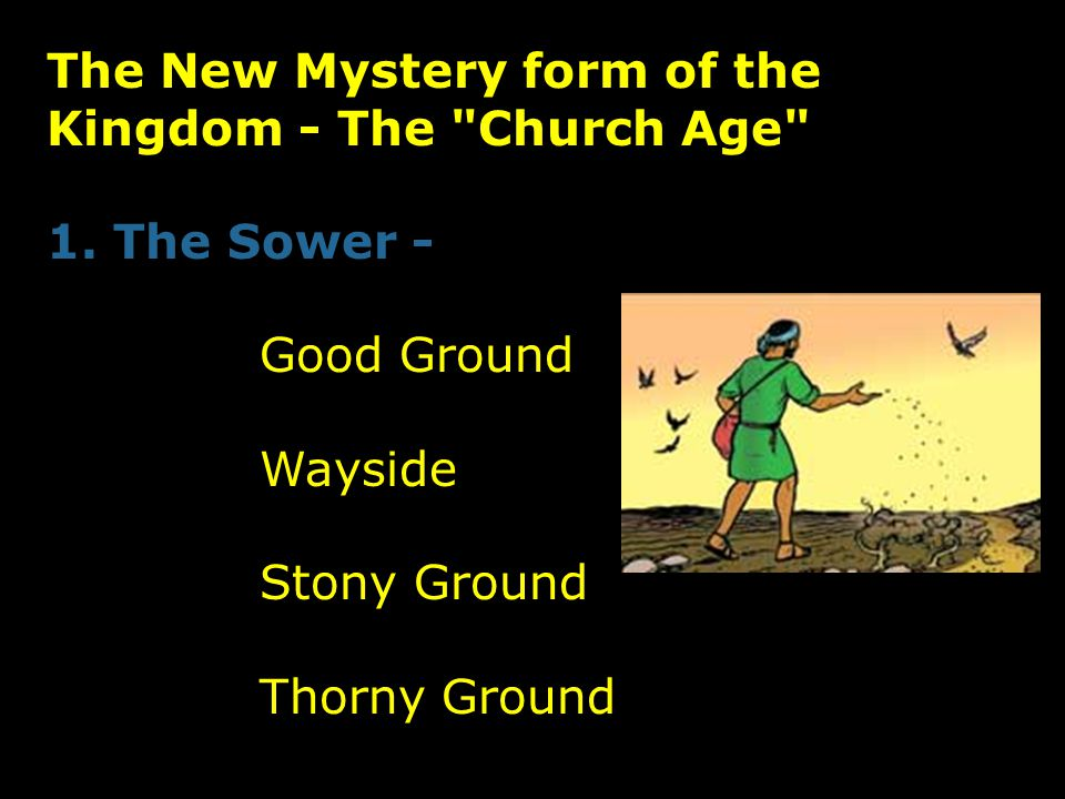 The New Mystery form of the Kingdom - The