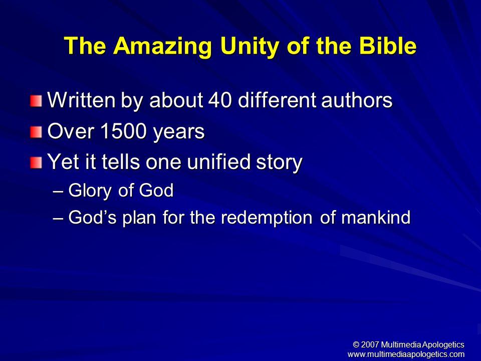 © 2007 Multimedia Apologetics www.multimediaapologetics.com Proving Christianity Is True 1.