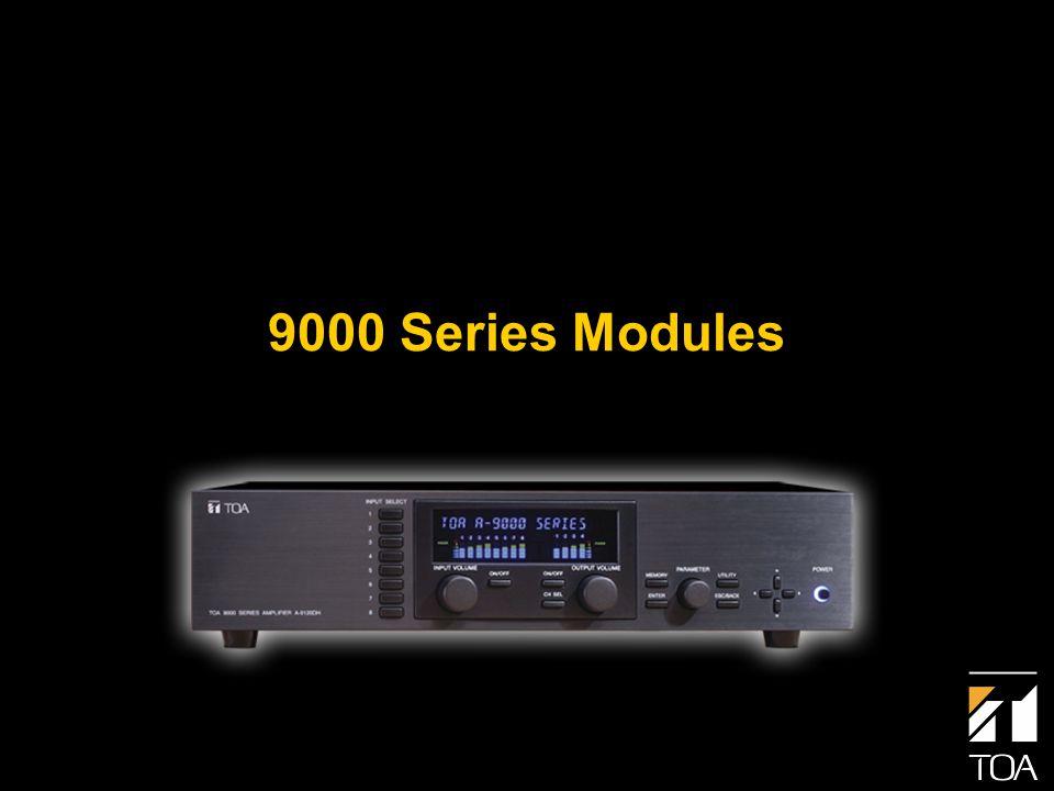 9000 Series Modules