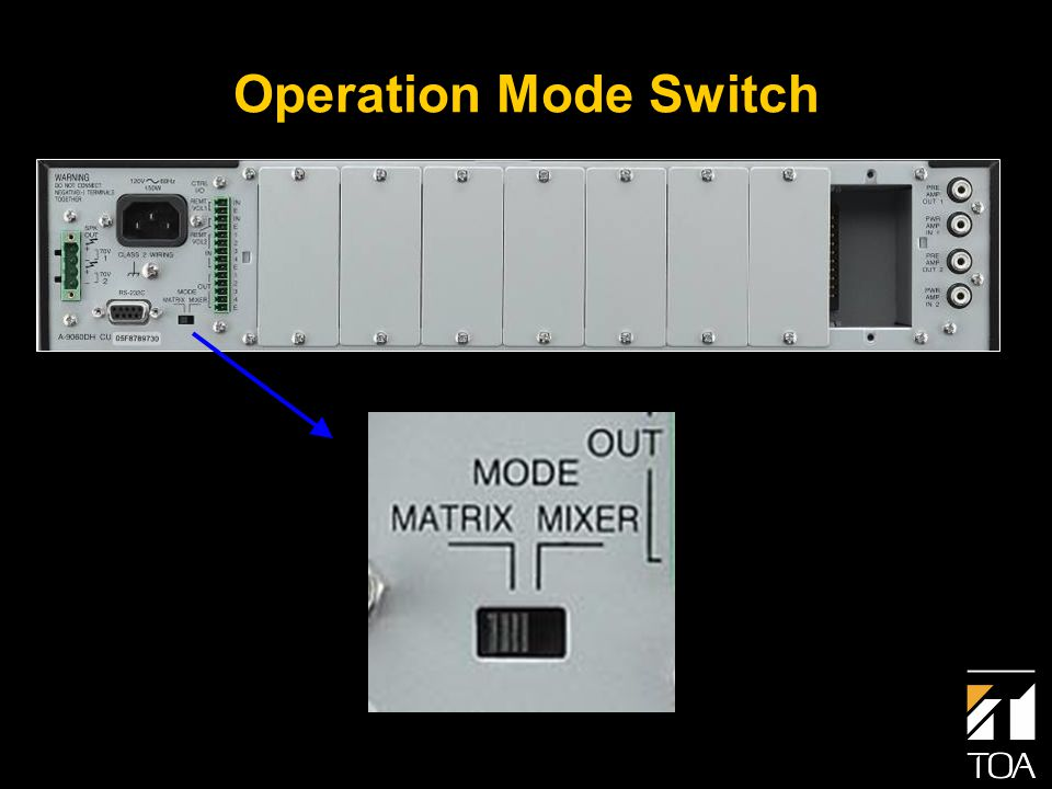 Operation Mode Switch
