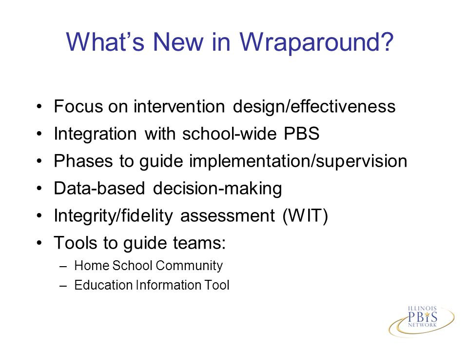What's New in Wraparound.