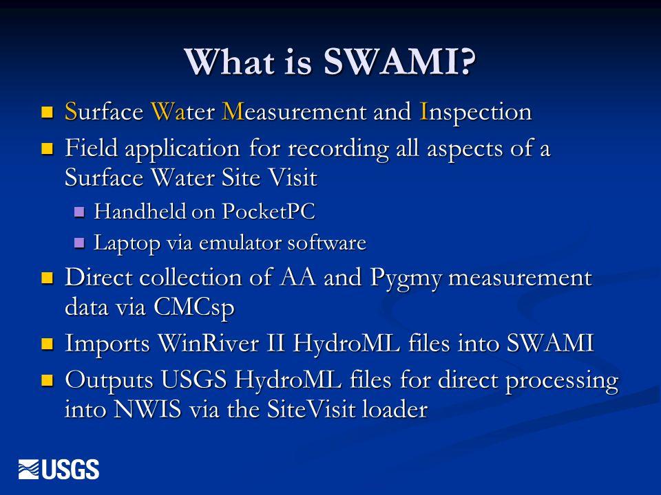 SWAMI – Rating/Meas Plot