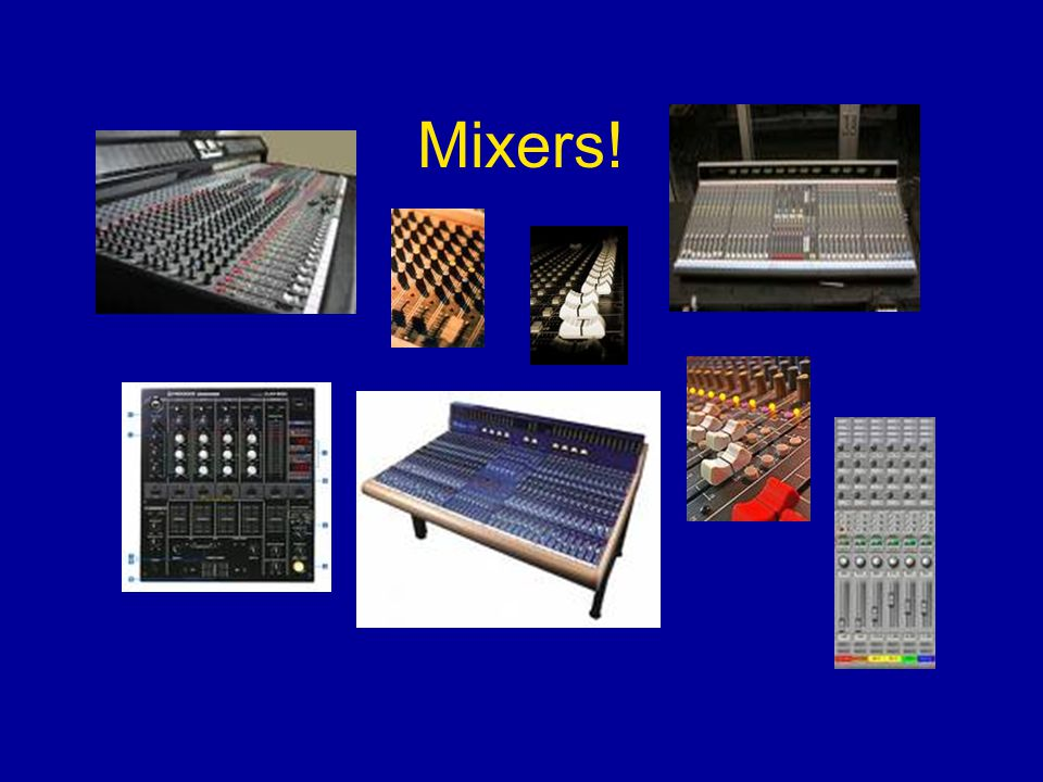 Mixer WS 10.The more money you spend, the more BELLS AND WHISTLES you can get on your mixer.