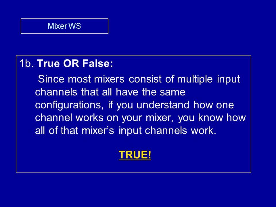 Mixer WS 1b.