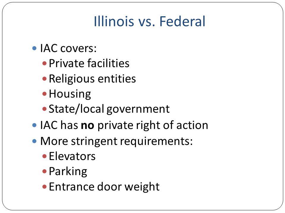 Illinois vs.