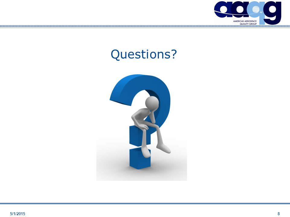 5/1/20158 Questions