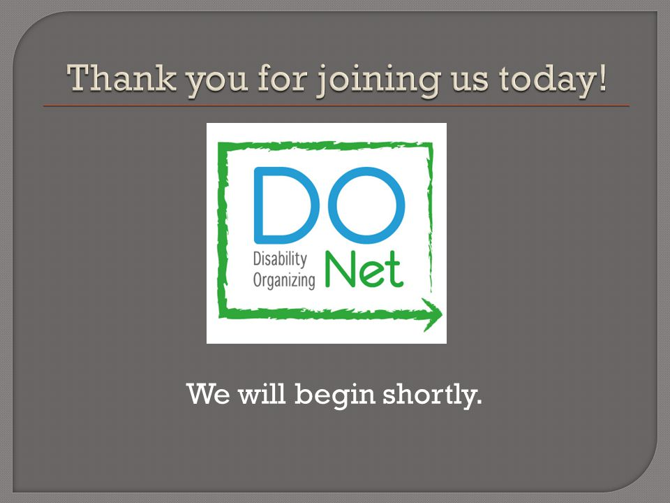 Thank you for participating today's webinar.
