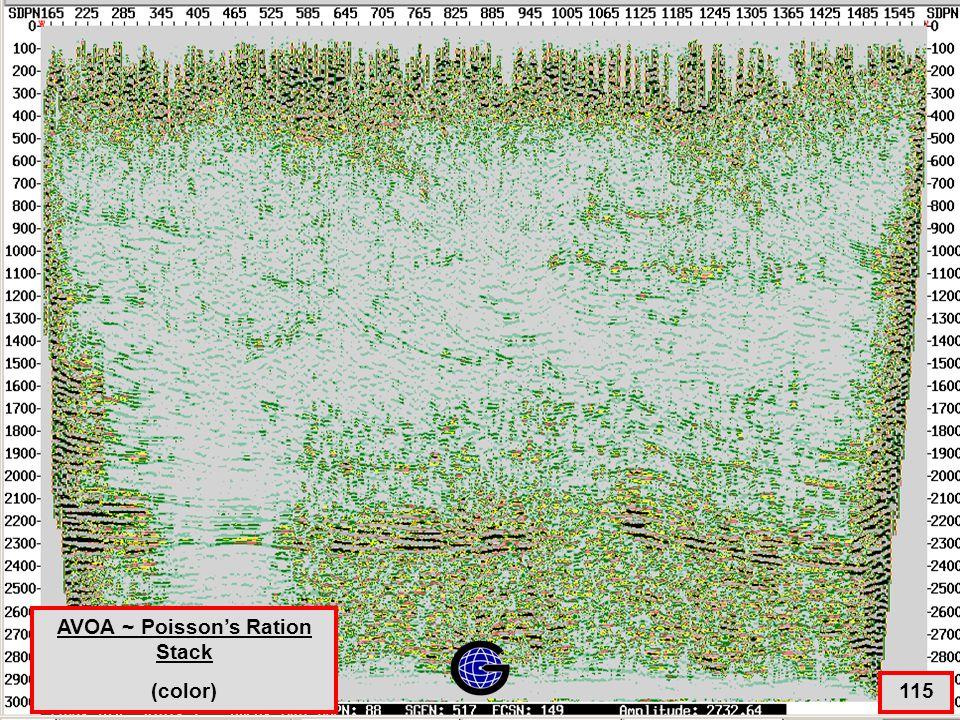 AVOA ~ Poisson's Ratio Stack - Color 115 AVOA ~ Poisson's Ration Stack (color)