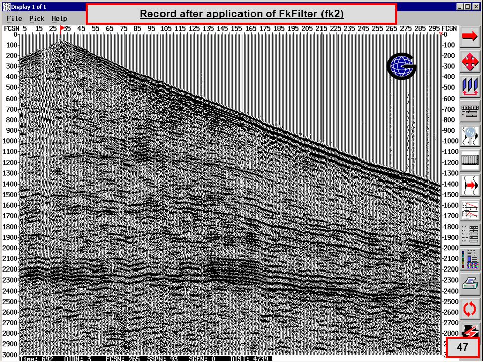 FK Filter # 2 Full Record Application Record after application of FkFilter (fk2) 47