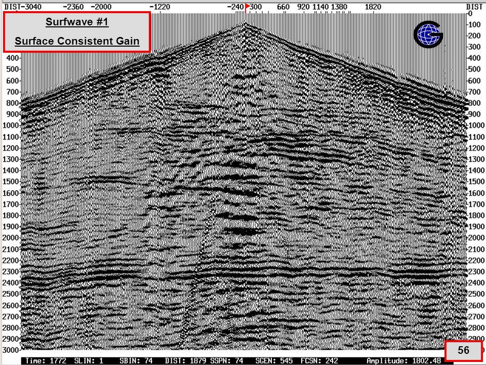 SurfWave+SGN+SGNE(qc4) 56 Surfwave #1 Surface Consistent Gain