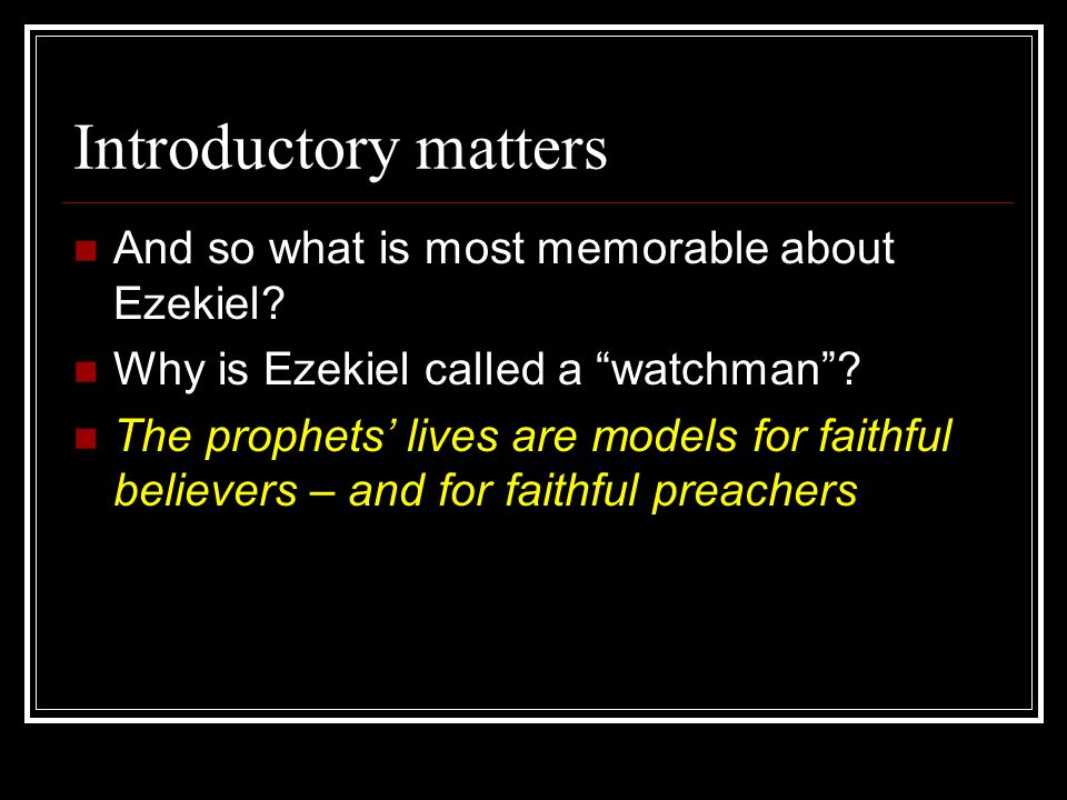 A Review of History Nebuchadnezzar took multiple waves of exiles to Babylon, starting in 605 and continuing beyond the destruction of the Temple Ezekiel, exiled in 597, was prophesying from Babylon
