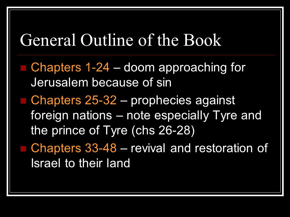Identity of Ezekiel the watchman of Israel [chs 3 and 33] son of man – human being Priest (1:3) – knew the Temple well Member of the second wave of exiles
