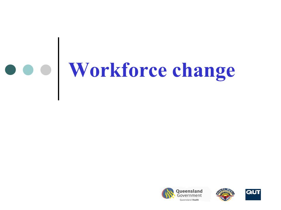 Workforce change