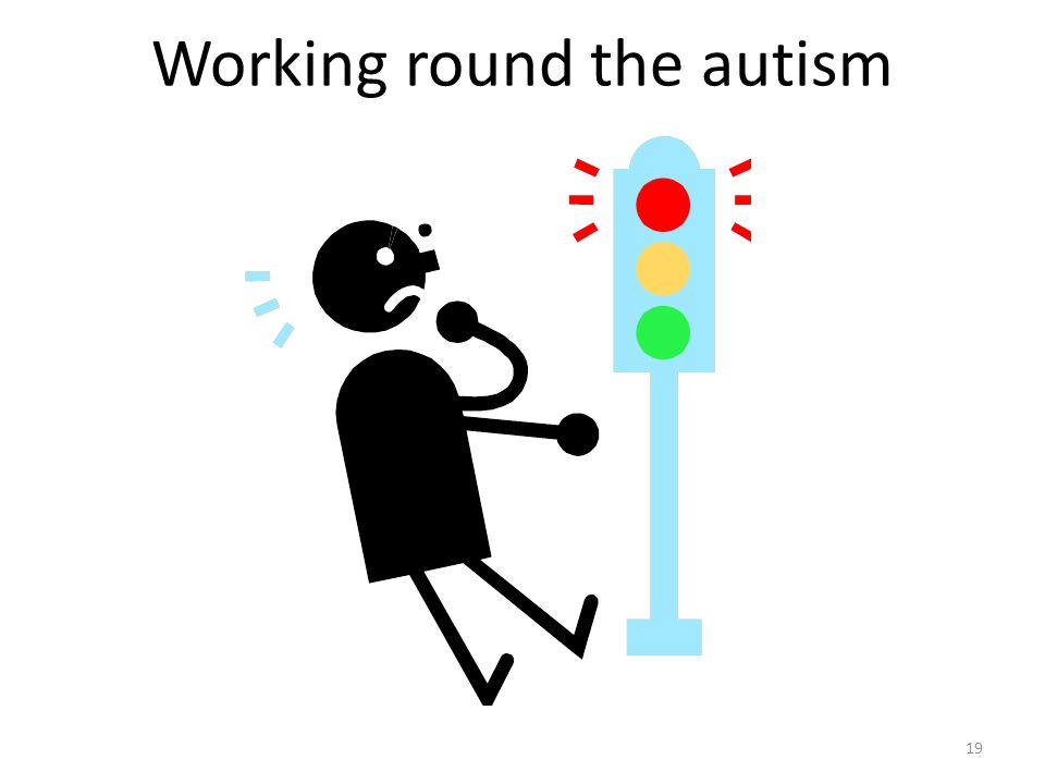 19 Working round the autism
