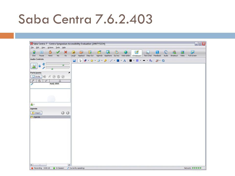 Saba Centra 7.6.2.403