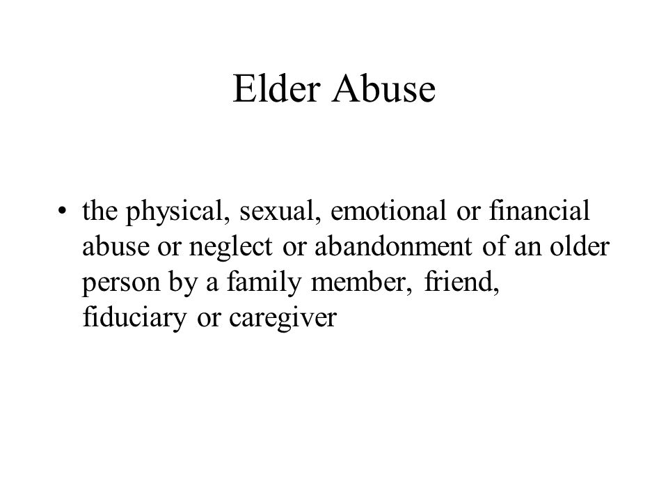Documentary Evidence That May be Relevant Prison records Home and cell phone records Parole/probation records Court records Previous 911 calls Police/court records from other jurisdictions If alleged abuser has been Power of Attorney for other seniors, this could be evidence of targeting seniors