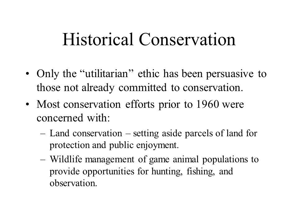 Conservation Biology?