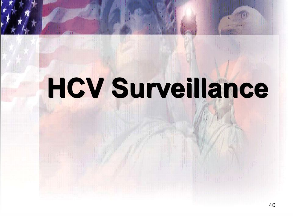 40 HCV Surveillance