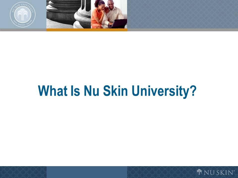 What Is Nu Skin University