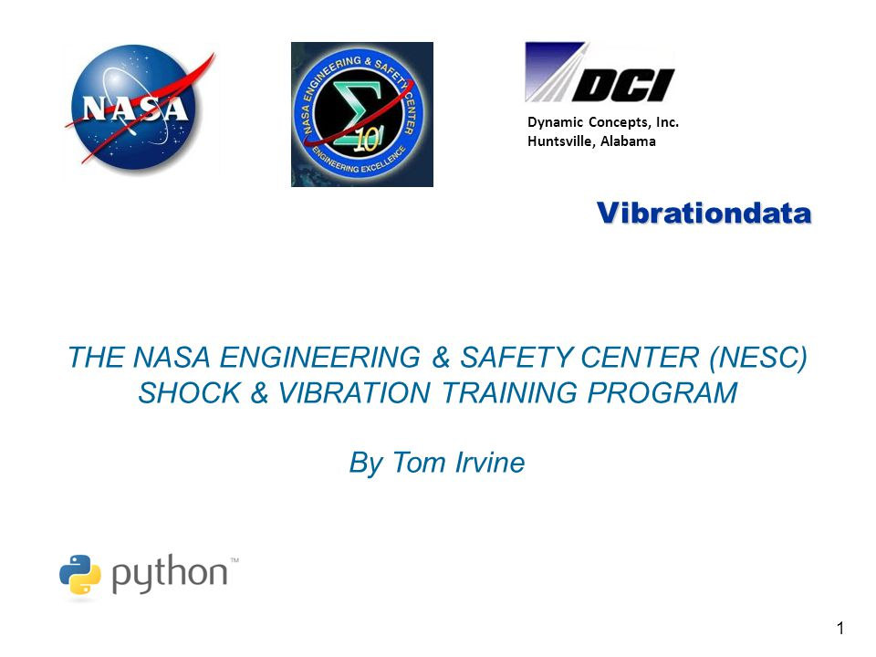 Vibrationdata Dr.Curtis Larsen 2 Dr. Curtis E.