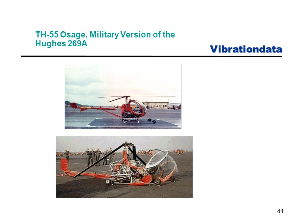 Vibrationdata 41 TH-55 Osage, Military Version of the Hughes 269A